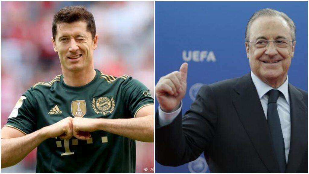 """Robert Lewandowski confiesa su encuentro con Florentino Pérez: """"Es cierto, nos reunimos un par de veces"""""""