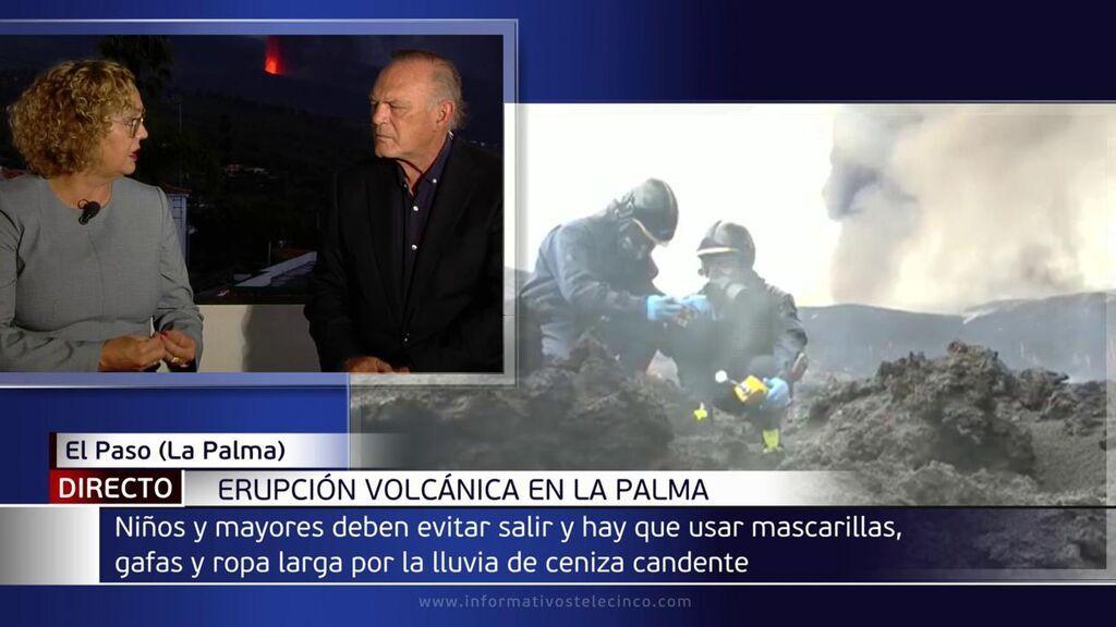 """Mercedes Coello, médica de La Palma: """"Se recomienda para toda la población que no dejen la comida ni bebida al aire libre, usar mascarilla"""""""
