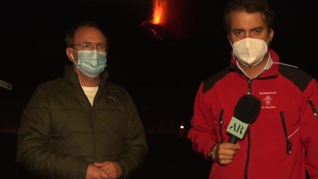 El alcalde de El Paso asegura que los expertos creen que la erupción aún durará 25 días o un mes más
