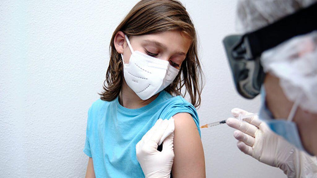 Así será la vacunación en menores de 12 años en España