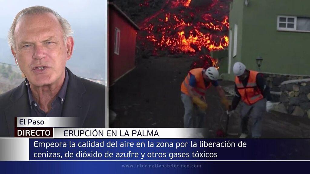 """El dolor de pecho de Pedro Piqueras: """"Cuesta respirar"""""""