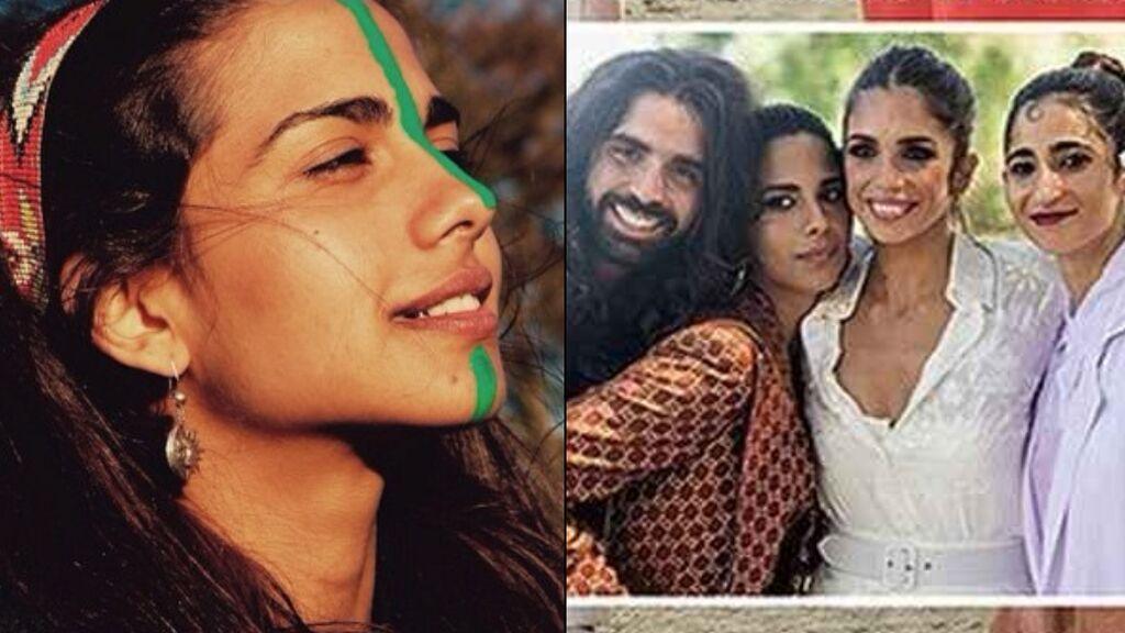 Lola, la hija de Rosario Flores, la otra gran protagonista de la boda de Elena Furiase