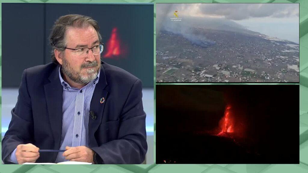 Así erá la isla de La Palma cuando termine la erupción