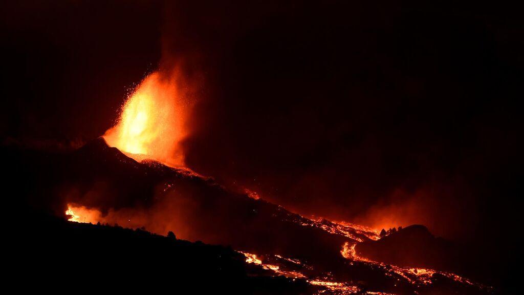 El volcán de La Palma, en fase explosiva