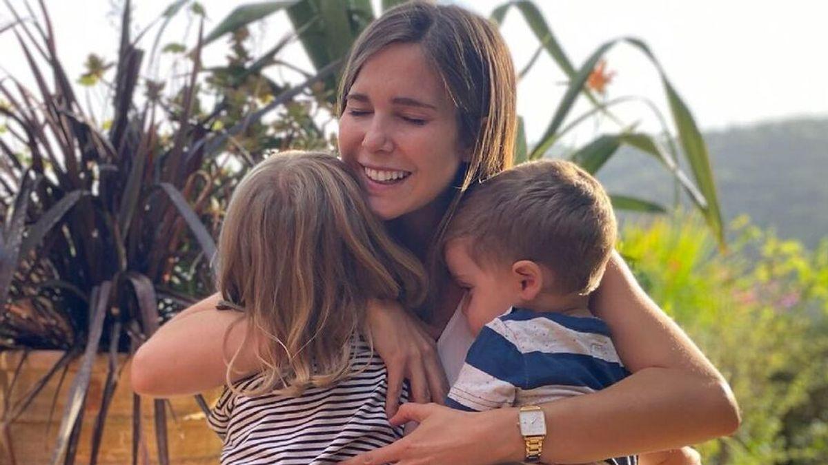 Natalia Sánchez, angustiada, desvela que sus hijos han cogido el virus 'boca, mano, pie'