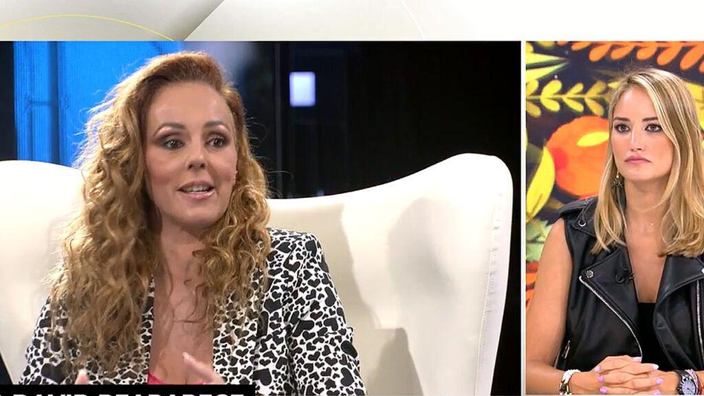 """Alba Carrillo reacciona a las peticiones legales de David Flores: """"Va a salir ganando el padre, fijo"""""""