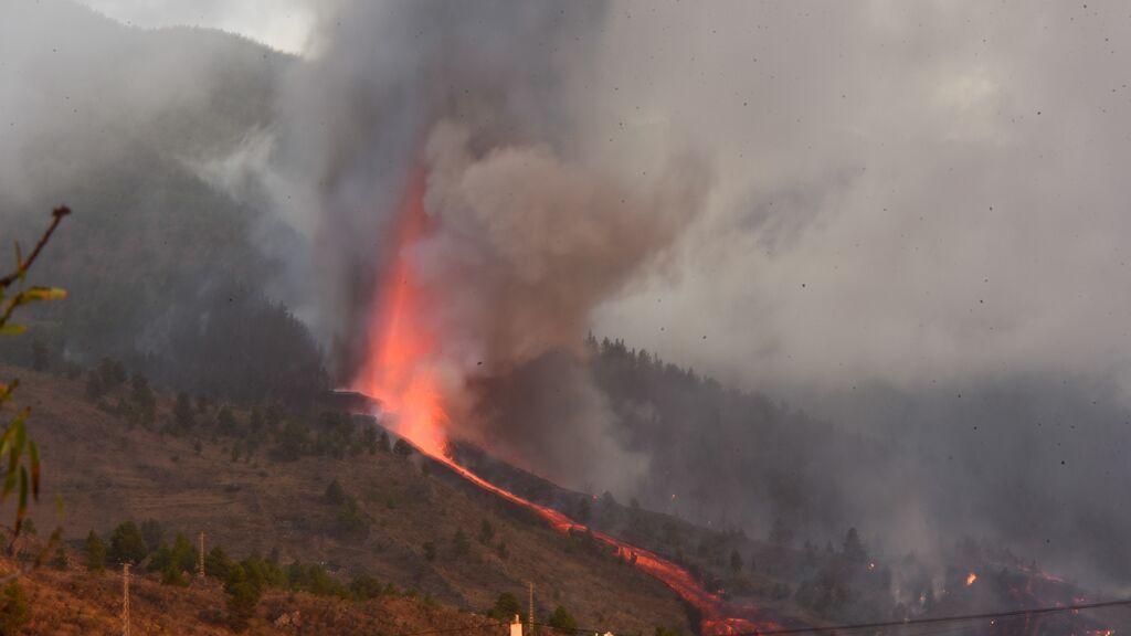 La concentración de dióxido de azufre en La Palma no supone riesgo para la salud