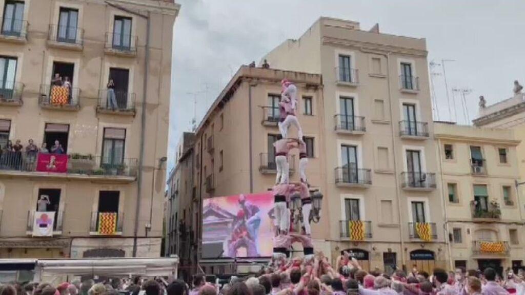 Los castells vuelven a Tarragona con una prueba piloto para hacerlos más seguros