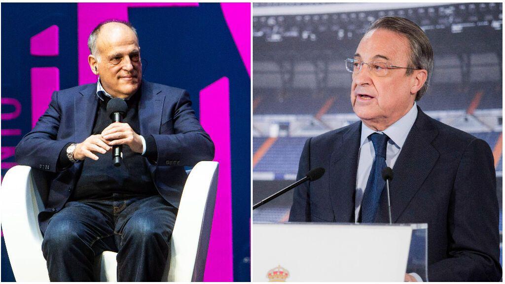 "Javier Tebas vuelve a atacar a la Superliga: ""Era como Robin Hood, pero al revés"""