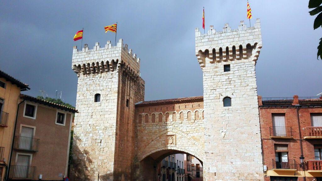 Puerta Baja, en Daroca, Zaragoza.