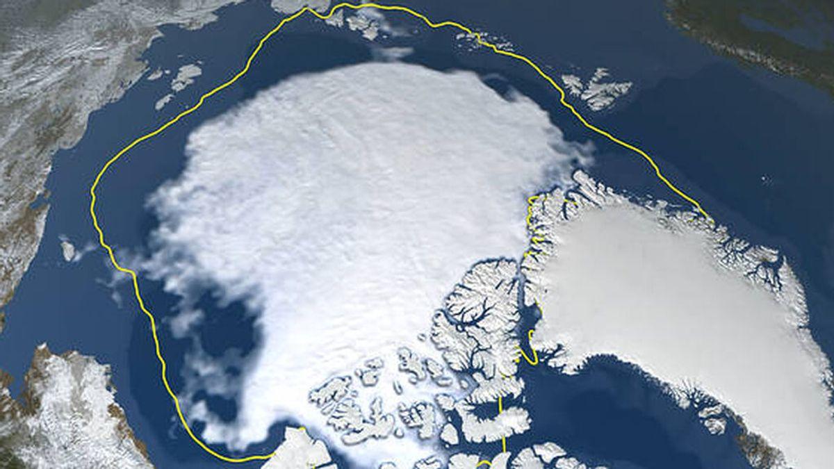 Un vídeo de la NASA muestra cómo se ha reducido el hielo ártico en el verano de 2021
