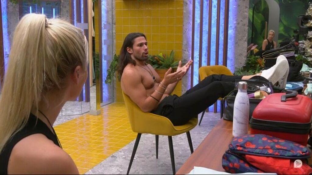 Emmy y Luca aclaran las cosas tras el beso con Cristina