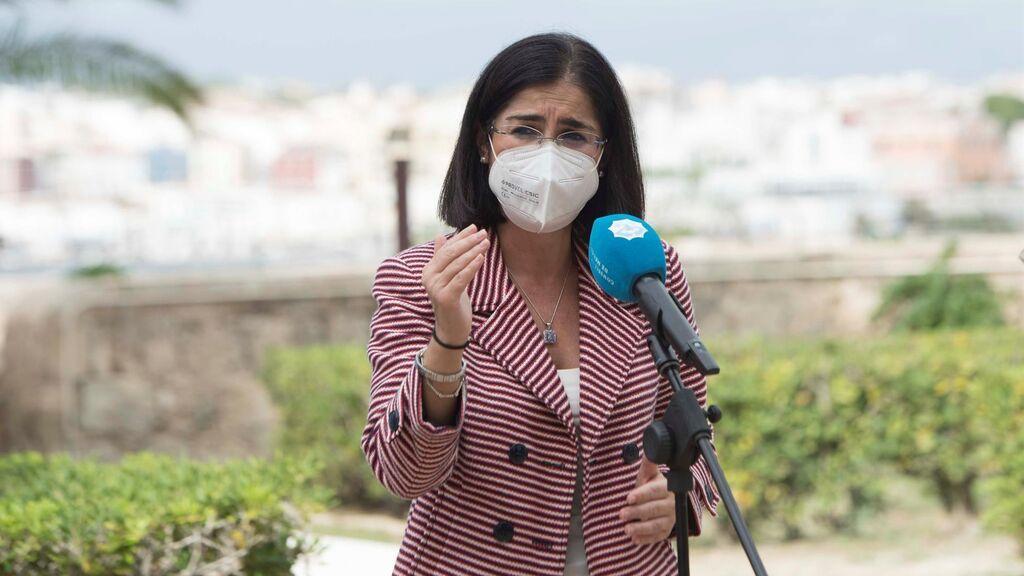 La ministra de Sanidad Carolina Darias  anuncia en Menorca la creación de un Centro Nacional de Salud Pública