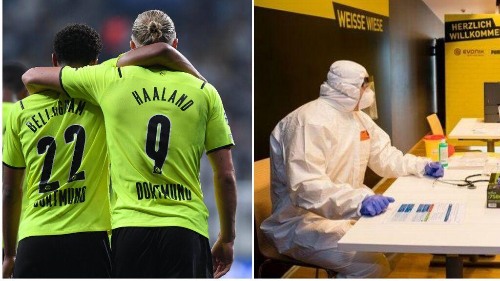 El aplaudido gesto del Borussia de Dortmund: invita a 500 sanitarios a su próximo partido de Champions
