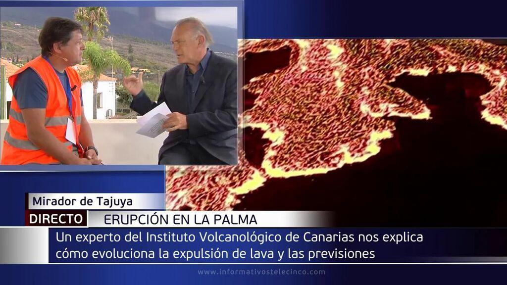 Pedro Piqueras: cómo está ahora el volcán