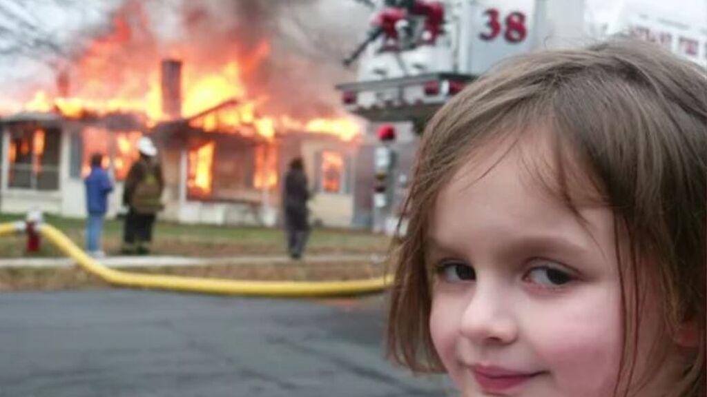 Meme de 'Disaster Girl'