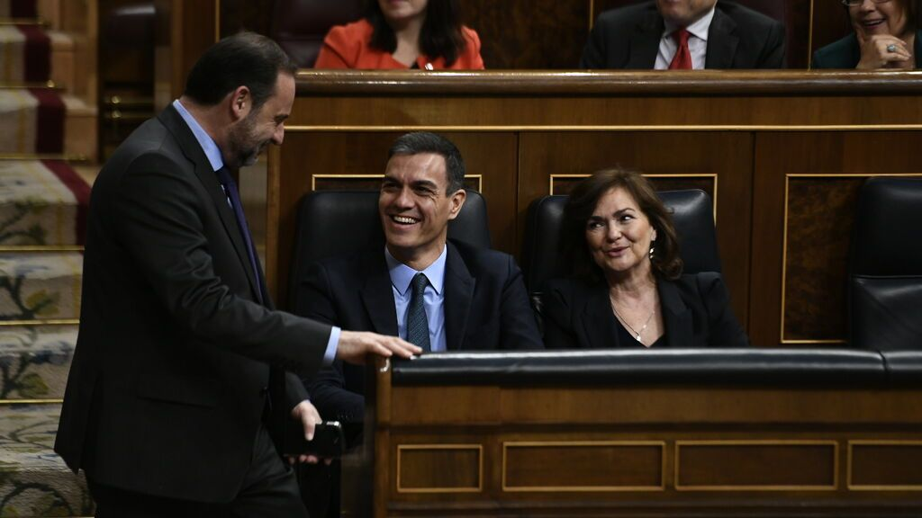 El PSOE colocará a Calvo y Ábalos como presidentes de las comisiones de Igualdad e Interior del Congreso