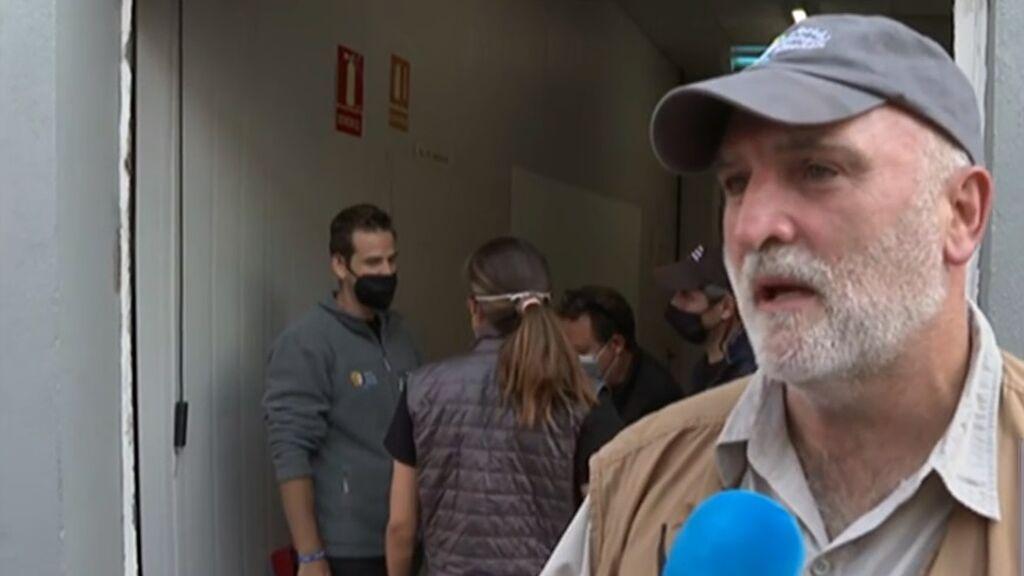 La ONG del chef José Andrés llega a La Palma para ofrecer comida a quienes lo han perdido todo