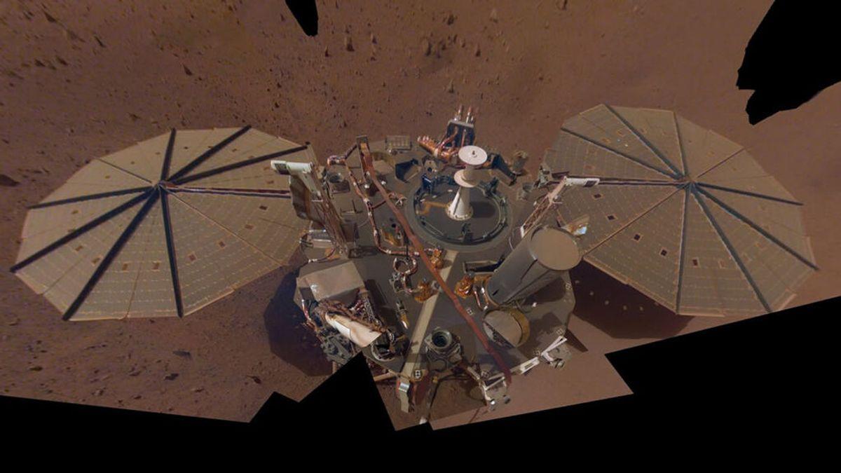 L a misión InSight detecta tres terremotos de gran magnitud en Marte