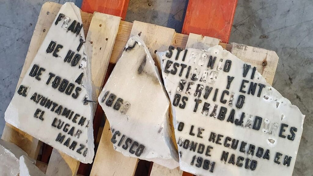 El TSJM permite al Ayuntamiento de Madrid retirar las placas de los socialistas Prieto y Largo Caballero