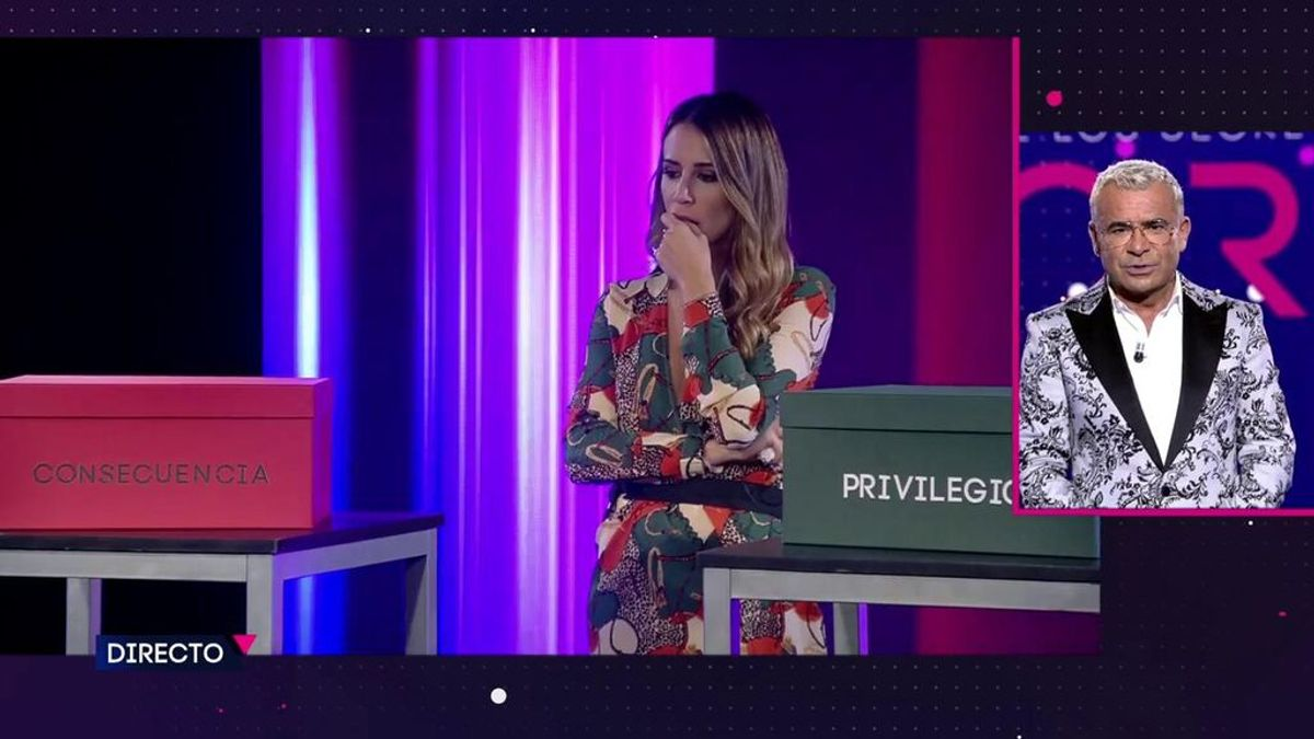Cristina Porta es la elegida por la audiencia con sus votos a través de la web y app de mitele para enfrentarse al dilema