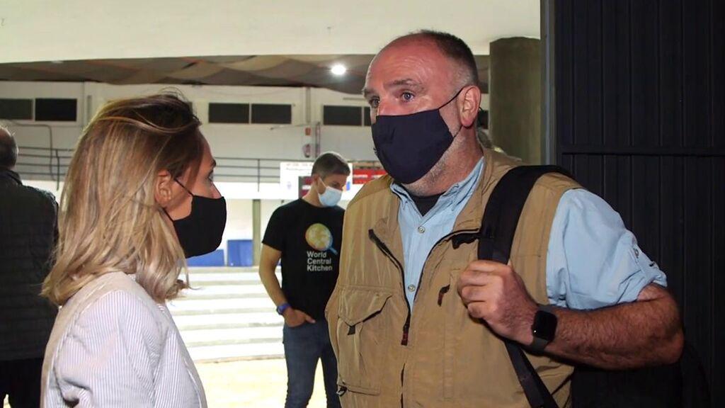 El chef José Andrés llega a La Palma