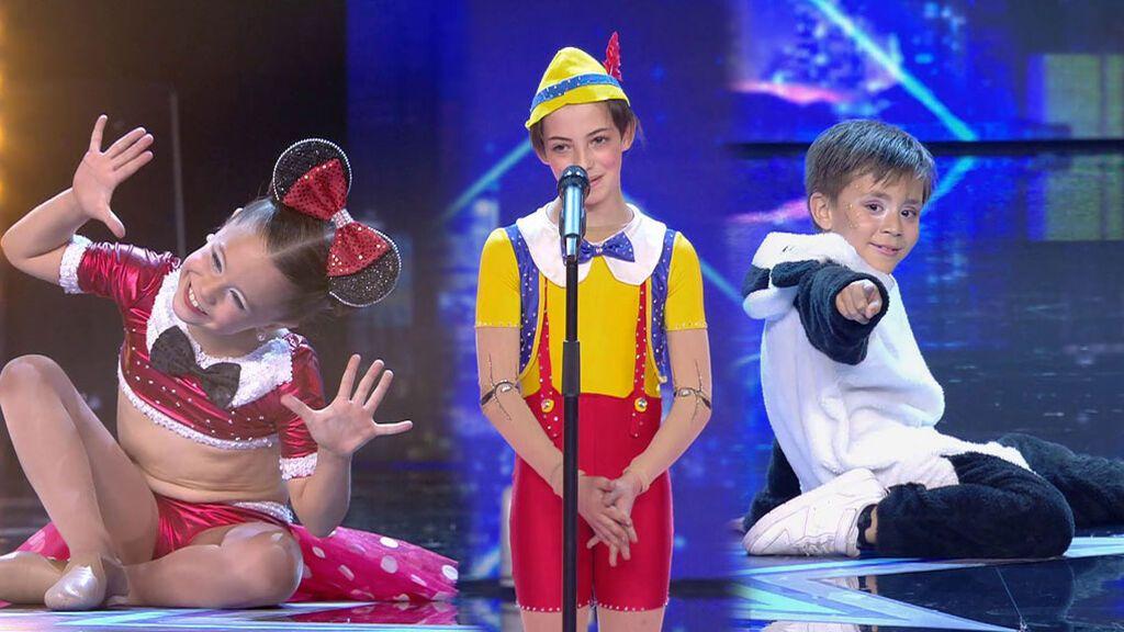 Los niños lo dan todo en 'Got Talent'