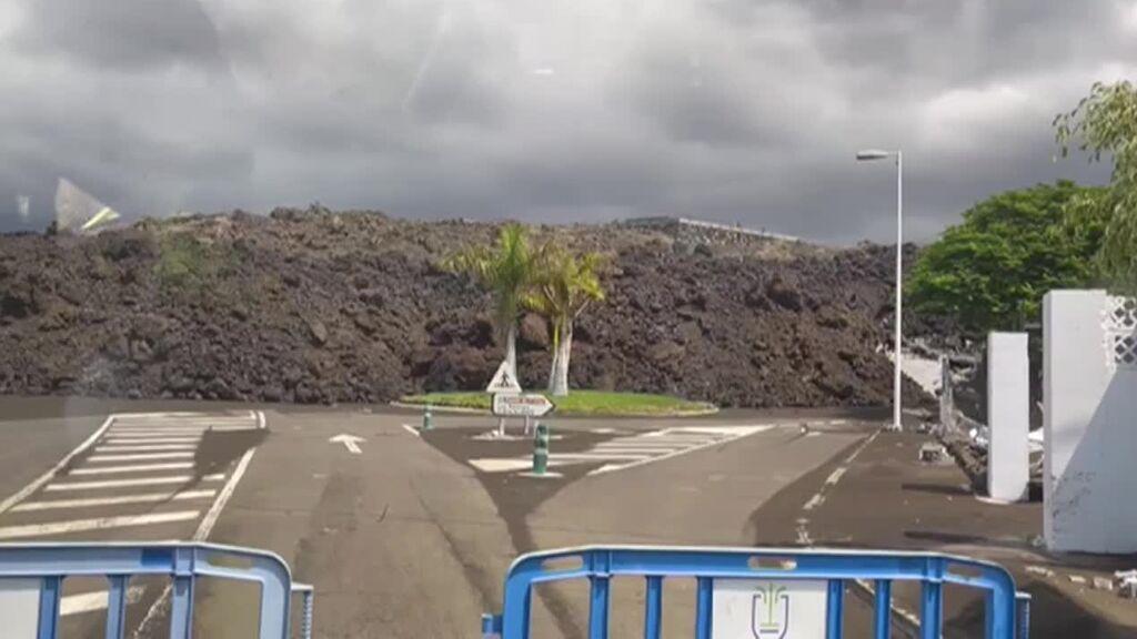 La lava convierte a Todoque en un barrio fantasma en la isla de La Palma