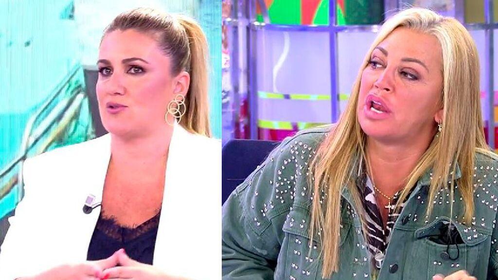 """Belén Esteban y Carlota Corredera reaccionan a las críticas que recibió la despedida de Anabel Pantoja: """"¡Es muy fácil hablar cuando no estamos!"""""""