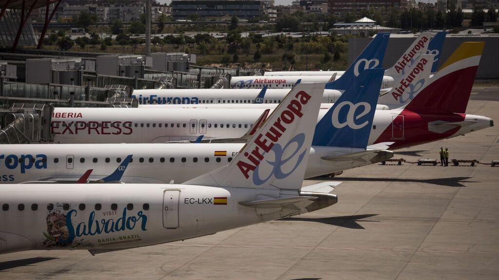 Las aerolíneas españolas preparan ERTE para 12.000 empleados si no se amplía su vigencia