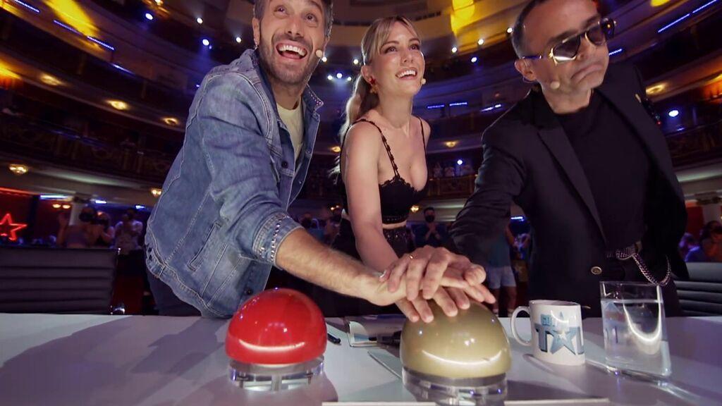 El jurado de 'Got Talent' se rinde ante el mago Maxence Vire
