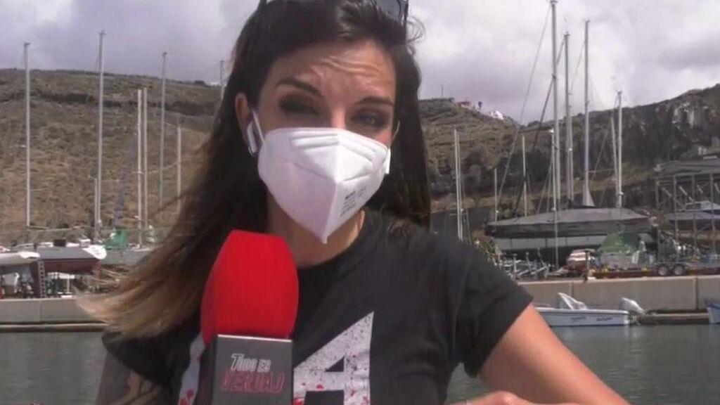 El agua del mar de La Palma ha subido de temperatura y ha cambiado de color