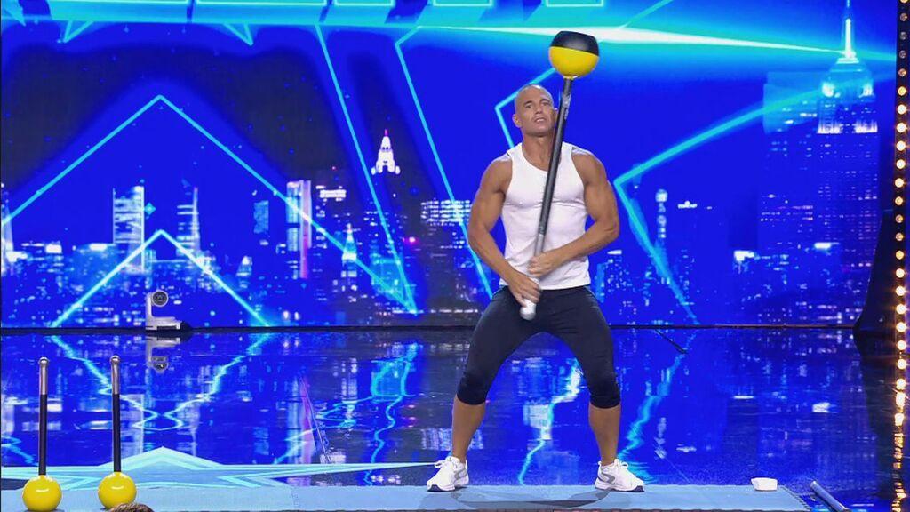 Gasthor consigue un récord mundial en 'Got talent'