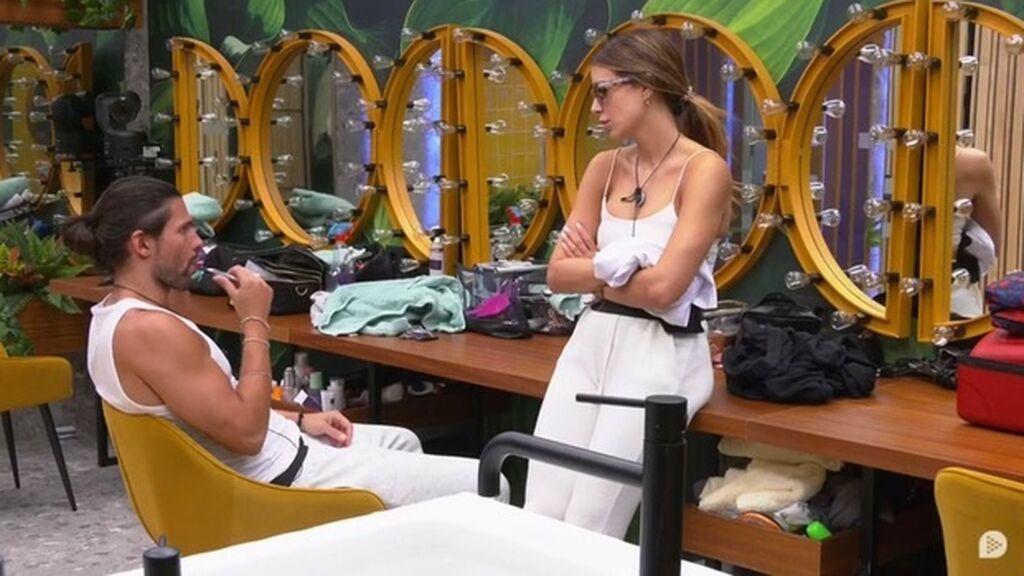Cris y Luca hablan