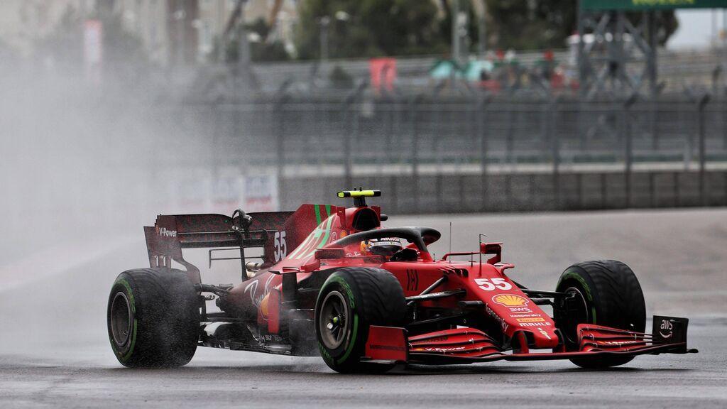 Carlos Sainz saldrá segundo en Sochi: la pole se la llevó Norris