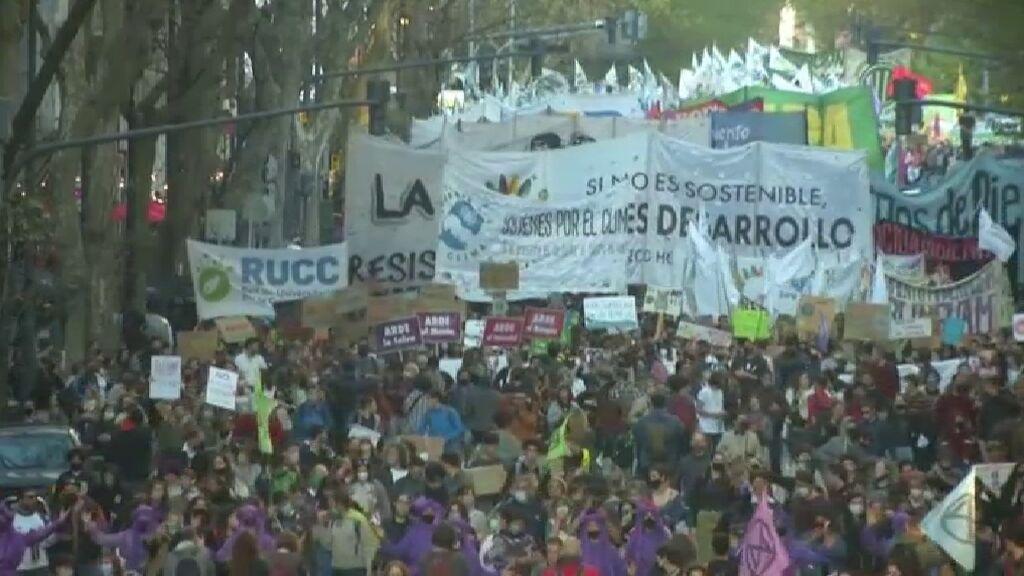 América Latina se moviliza en la Huelga Mundial por el Clima contra el cambio climático