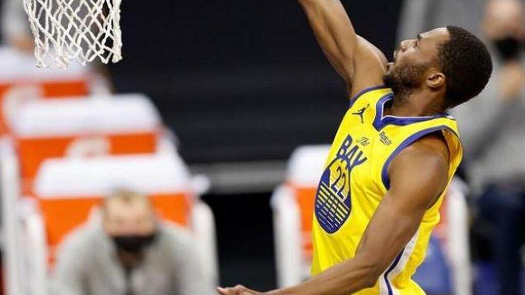 Andrew Wiggins se niega a vacunarse contra el covid y la NBA le prohíbe jugar en Oakland
