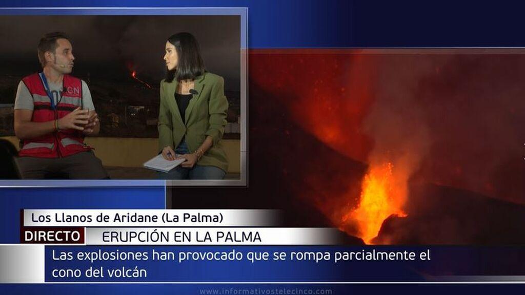 Lo que está pasando en el interior del volcán de La Palma: ¿Llegará la lava finalmente al mar?