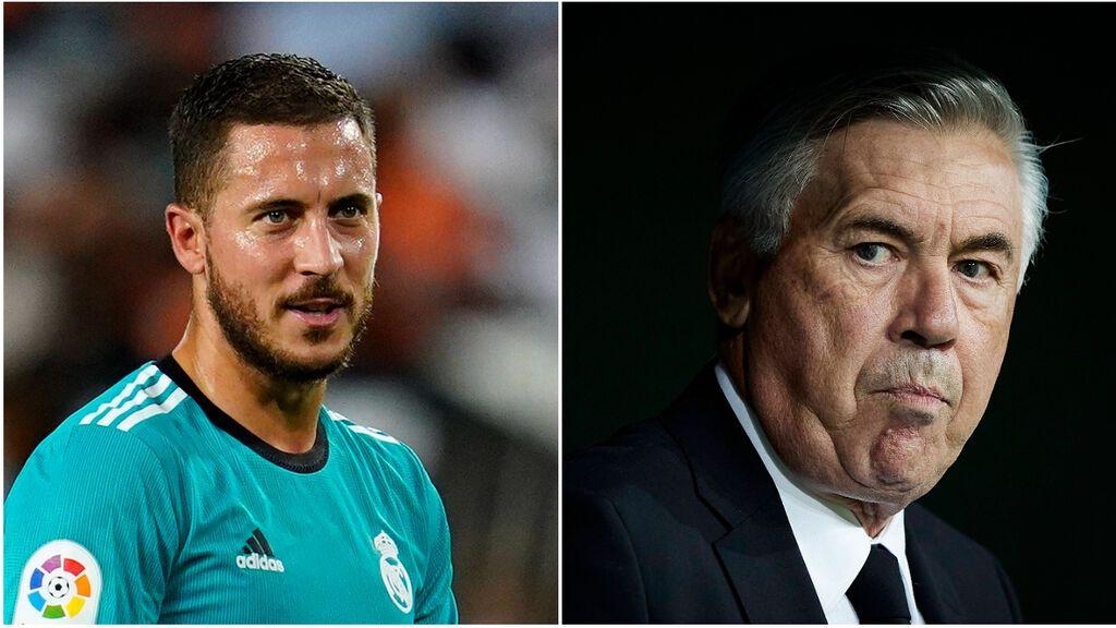 Ancelotti instala la meritocracia en el Madrid: Hazard, el gran perjudicado