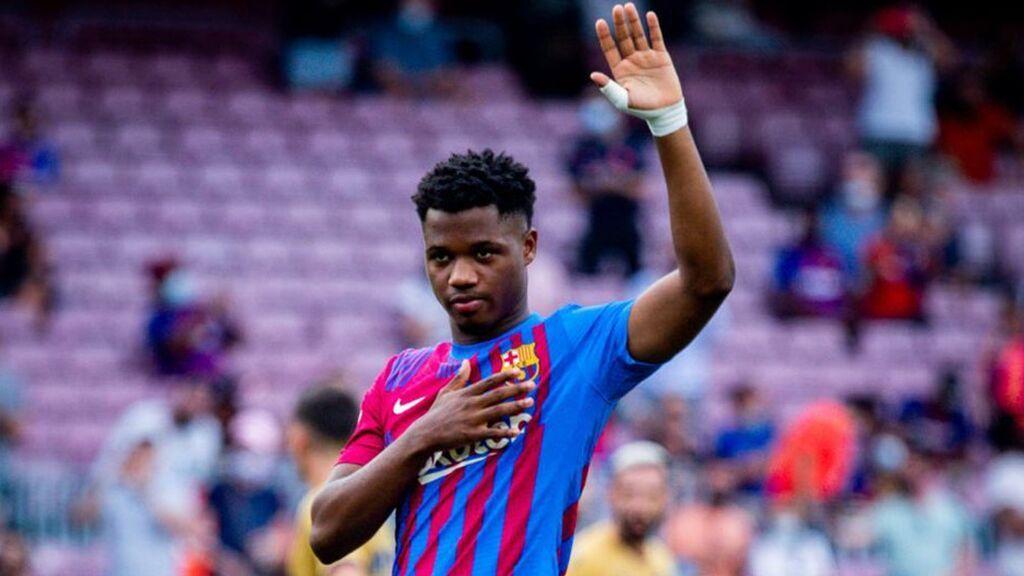 El nuevo 10 del Barça llega para ilusionar al barcelonismo: el regreso con gol de Ansu Fati