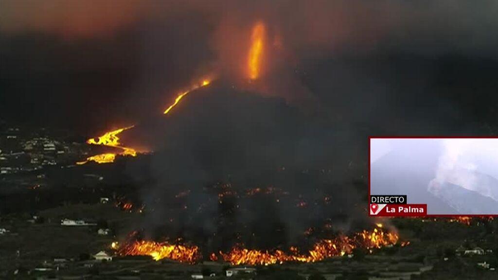 Se registra una disminución de la presión en el sistema magmático de Cumbre Vieja, La Palma