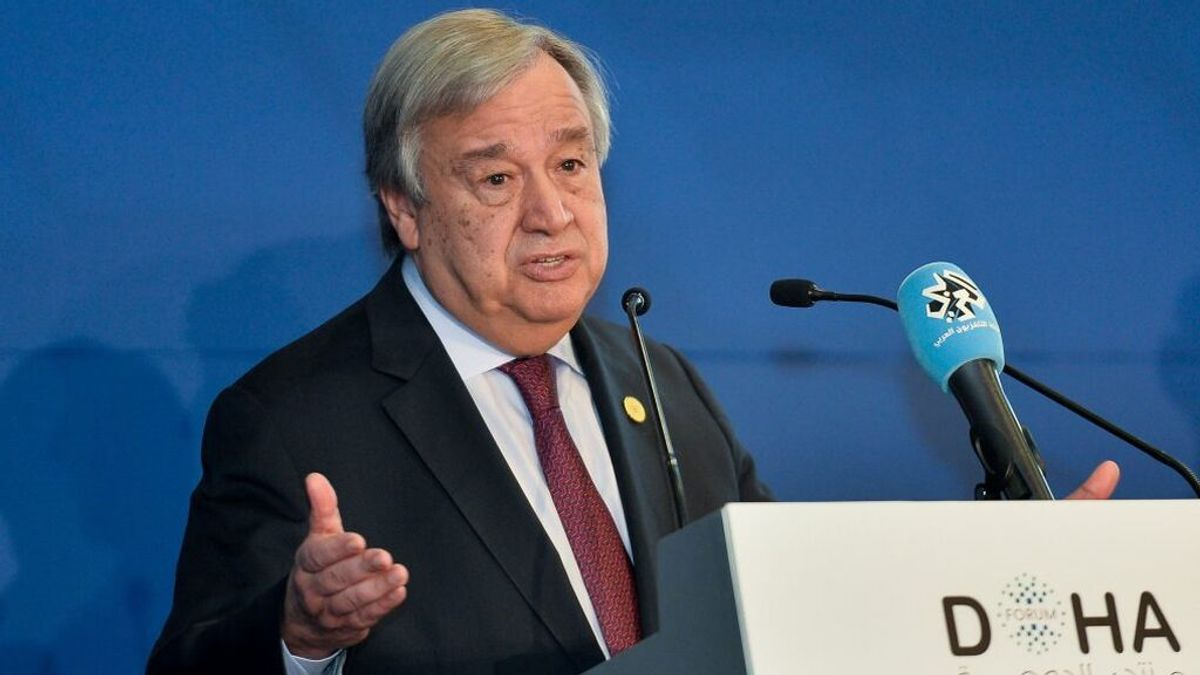 Guterres advierte de que el mundo afronta el mayor nivel de riesgo nuclear en casi cuatro décadas