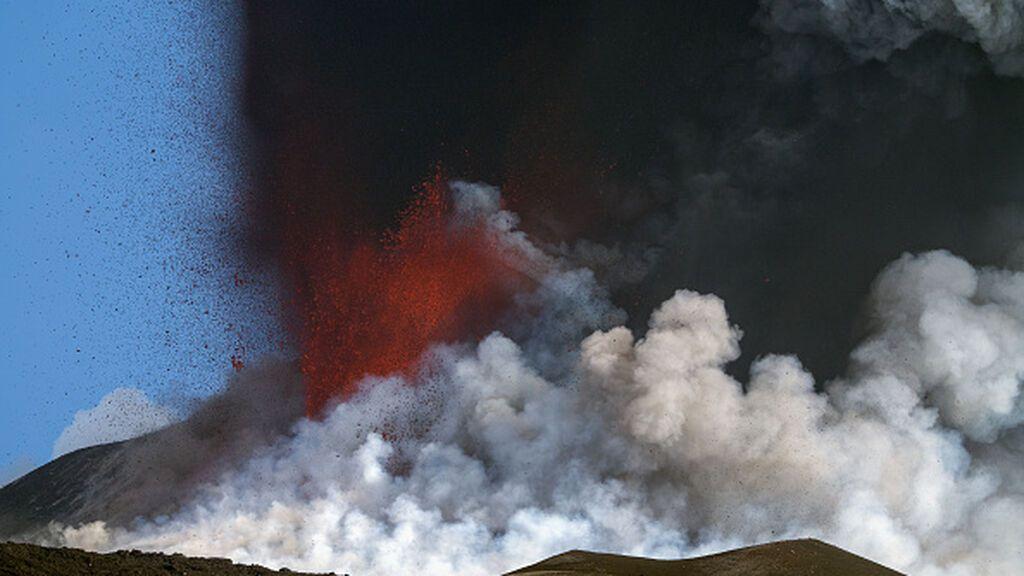Las cenizas del volcán de La Palma cubren ya 1.314 hectáreas, según el satélite Copernicus