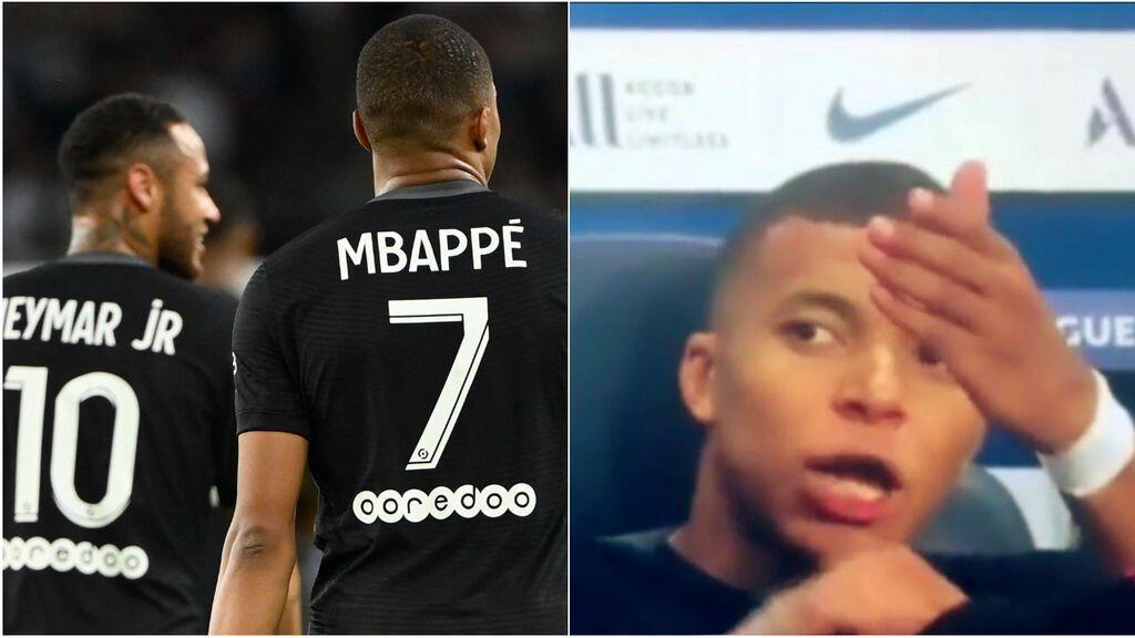 """El monumental cabreo de Mbappé con Neymar: """"No me la pasa"""""""