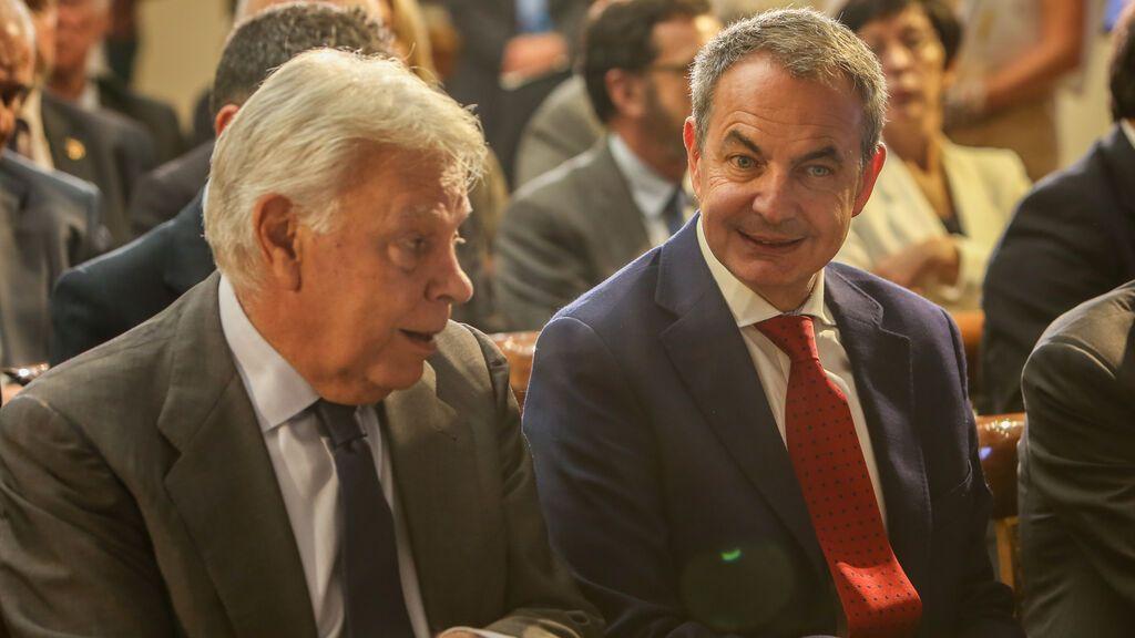 Felipe González y Zapatero participarán en el congreso del PSOE en Valencia