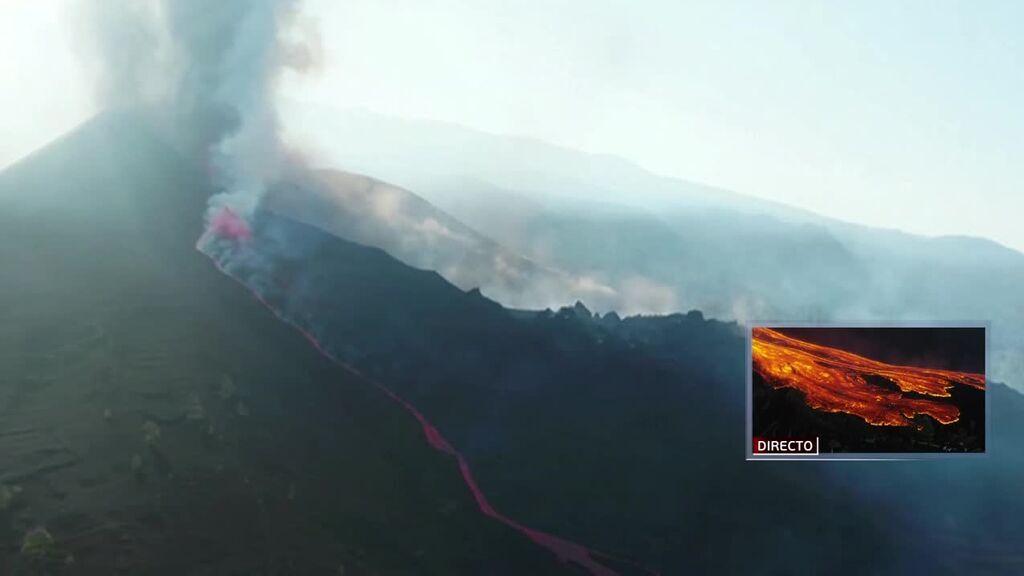 El volcán se reactiva expulsando lava y con nuevas explosiones violentas