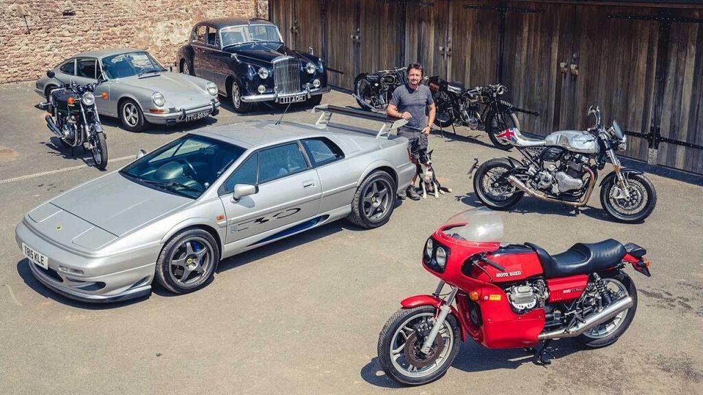 Richard Hammond, de Top Gear, vende sus joyas sobre ruedas: quiere montar un taller de restauración de clásicos en TV