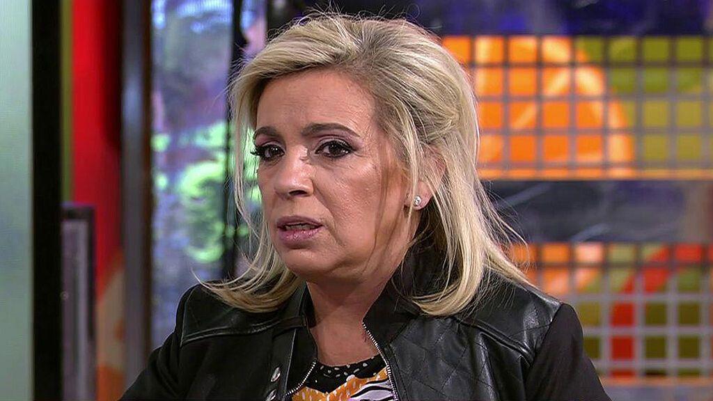 Lo que ha dicho Carmen Borrego en 'Sálvame': los motivos del cabreo de Alejandra Rubio
