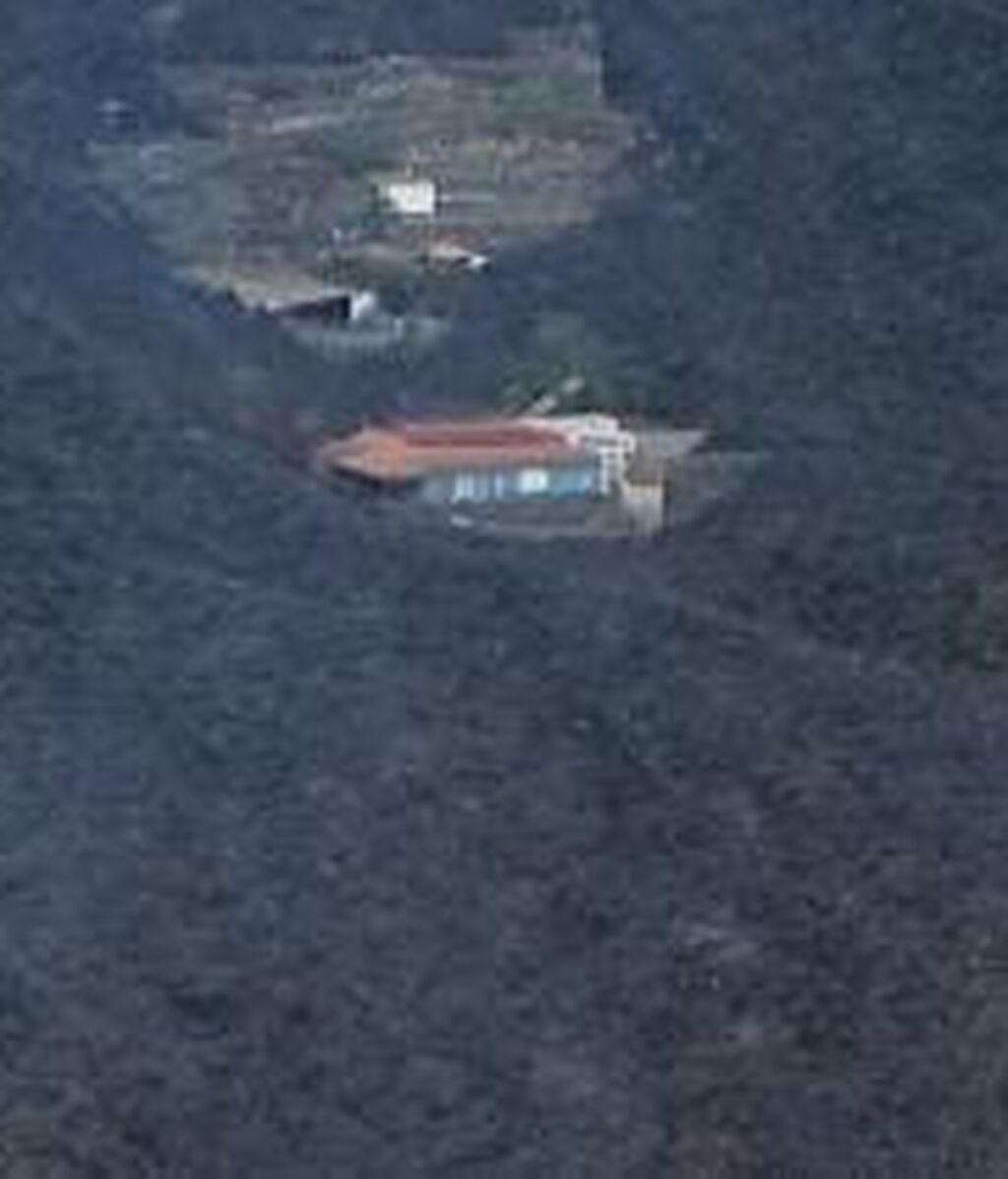 """Una de las casas """"milagro"""" del desastre de La Palma"""