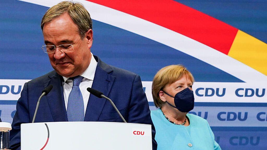 El histórico 'derrumbe' sin Merkel de la CDU en las elecciones generales